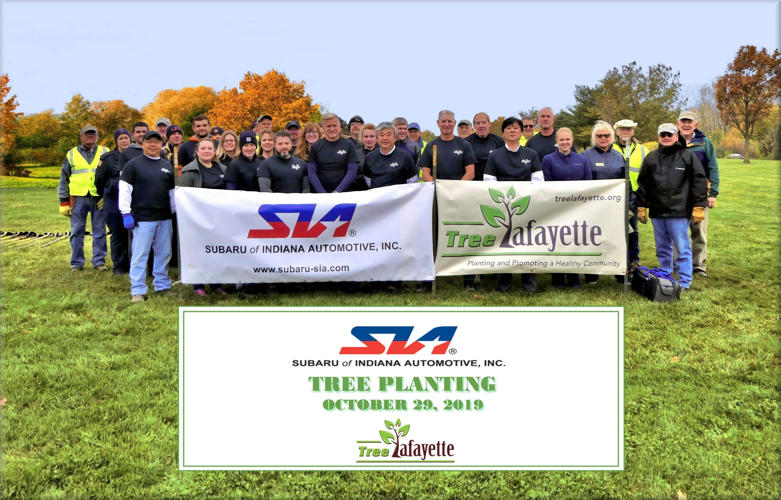 Fire Station tree planting